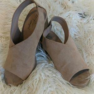 Brand New never worn, Size 5 women's block heels.